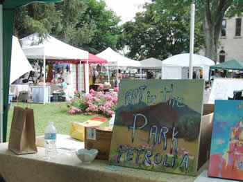 Art in the Park Petrolia