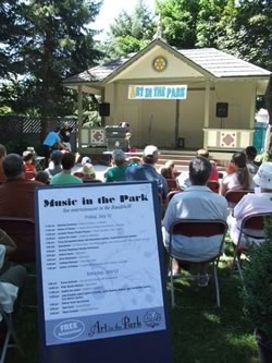 Art in the Park Petrolia Musical Line-Up